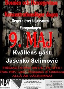 Plakat 9 maj 2014